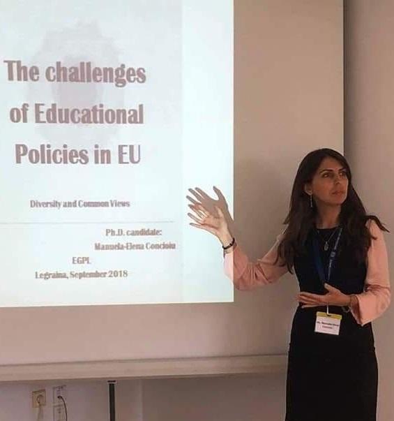 Drd. Manuela-Elena CONCIOIU